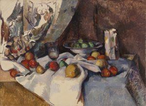 «Натюрморт с яблоками» Сезанна, 1895-1898 г.; МОМА, Нью-Йорк