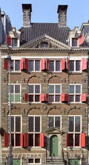 Дом Рембрандта, входная дверь, Амстердам