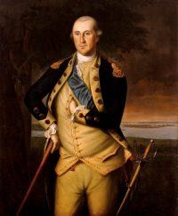Чарльз Уиллсон Пил, Портрет Джорджа Вашингтона, 1776, Музей Бруклина, Фонд Рамсея