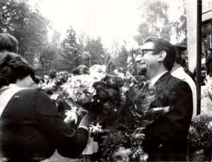 Эдуард Драбкин с учениками