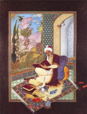 Мудрец. Персидская миниатюра XV (?) века