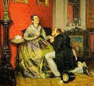 П.А. Федотов «Разборчивая невеста»