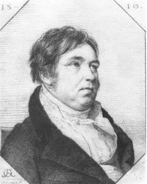 И.А. Крылов, рисунок О. Кипренского, 1816