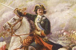 Петр Первый. Полтавская битва