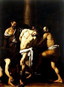 «Бичевание Христа» Караваджо, 1607г.; Музей Каподимонте, Неаполь