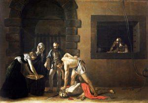 «Усекновение главы Иоанна Крестителя» Караваджо, 1608г.; Собор Святого Иоанна, Валетта, Мальта