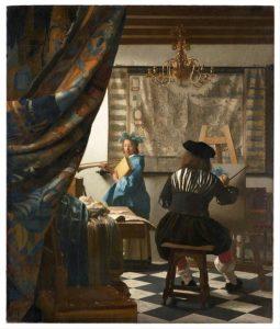 «Искусство живописи» Вермеера, 1666г.; Художественно-исторический музей, Вена