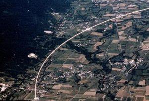 Рис.1. Общая схема расположения туннелей ЦЕРН