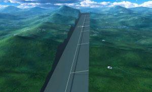 Рис.23. Схема расположения туннеля Международного линейного ускорителя ILC