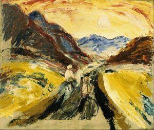 «Долина реки Чарыш» Древина, 1930г.; Музей Алтайского края, Барнаул