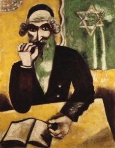 «Понюшка табаку» Шагала, 1912г. Художественный музей, Базель