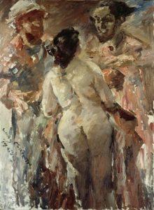 «Сюзанна и старцы» Коринта, 1923 г.; Музей Нижней Саксонии, Ганновер