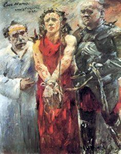«Ecce homo» («Се человек») Коринта, 1925г.;Художественный музей, Базель
