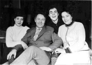 Наша семья 27 января 1985 года. Публикуется впервые