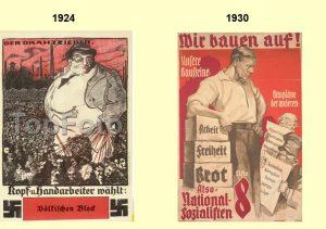 На выборах 1930-1932 гг. исчезли антисемитские плакаты