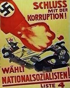 Предвыборный плакат NSDAP