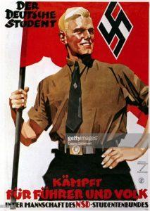 Плакат национал-социалистического студенческого союза