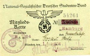 NSDStB – Национал-социалистический союз немецких студентов с 1926 г.
