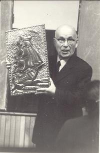 Профессор А.Е. Левашев на юбилее, посвященном его 80-летию (Минск, 1978 г.)