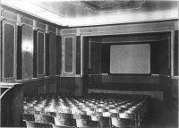Зрительный зал. Фотография из диссертации Л.М. Хидекеля 1939-1940 гг. Авторская подпись: «Зрительный зал» ЦГАНТД ф.205 о.2-1 д.244 л. 71