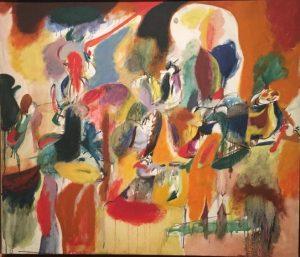 «Вода цветистой мельницы» Горки, 1944г.; Музей Метрополитен, Нью-Йорк