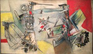 «Без названия» Матта, 1949г.; Музей Метрополитен, Нью-Йорк