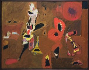«Агония» Горки, 1947г.; МОМА, Нью-Йорк