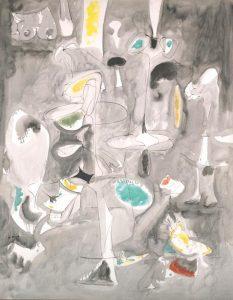 «Помолвка» Горки, 1947г. Галерея Йельского университета, Нью-Хейвен, Коннектикут