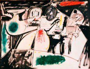 «Последняя работа» Горки, 1948г.; Музей Тиссена-Борнемисы, Мадрид