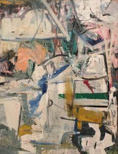 «Пасхальный понедельник» де Кунинга, 1955-1956г.; Музей Метрополитен, Нью-Йорк