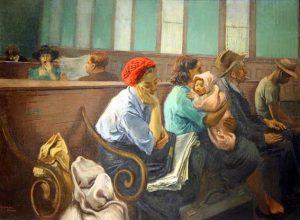 «Зал ожидания» Сойера, 1940г.; Национальная галерея, Вашингтон