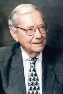 Н. Блумберген. 2001 г. Фото подарено мне самим учёным