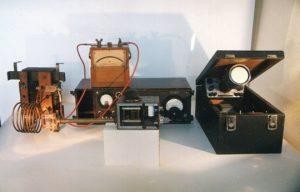 Установка Е.К. Завойского для наблюдения парамагнитного