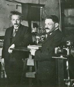 Альберт Эйнштейн и Пауль Эренфест