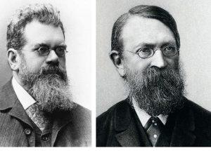 Людвиг Больцман и Эрнст Мах