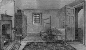 Комната, в которой умер Роберт Бернс