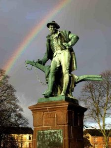 Памятник Роберту Бёрнсу в Пейсли, Шотландия