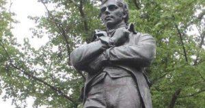 Памятник Бёрнсу в Монреале, Канада