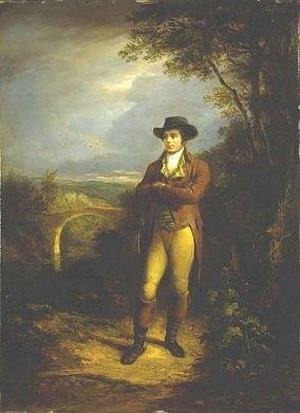 Александр Несмит. Портрет Роберта Бёрнса, 1828