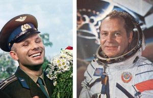 Первые космонавты: Юрий Гагарин и Герман Титов
