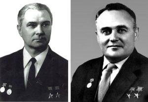 В.П.Глушко и С.П.Королев