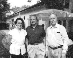 На следующий день после празднования 70-летия Джорджа