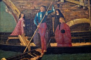 Фрагмент картины «Чудо реликвии Святого Креста». В. Карпаччо