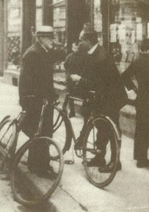 Давид Гильберт и Джеймс Франк в Гёттингене