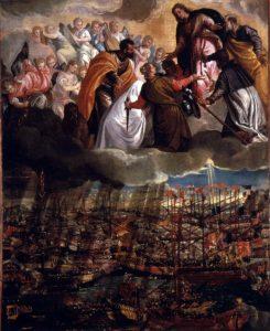 «Аллегория битвы при Лепанто» П.Веронезе