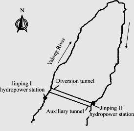 Рис.4. Общая схема туннелей комплекса. https://www.sciencedirect.com/science/article pii/S1674775515301244...