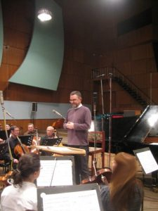 Запись Второго концерта для фортепьяно с оркестром М. Коллонтая. 2010 г.