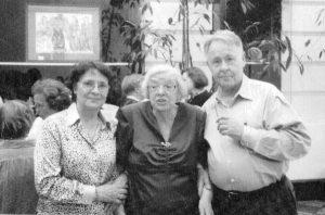 Вместе с известной правозащитницей Людмилой Михайловной Алексеевой во время её последнего приезда в Вашингтон