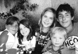 Наши внучки и внуки: Анна, Валерия, Варя, Мирон и Алексей.Публикуется впервые