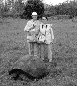 Во время путешествия на Галапагосские острова.